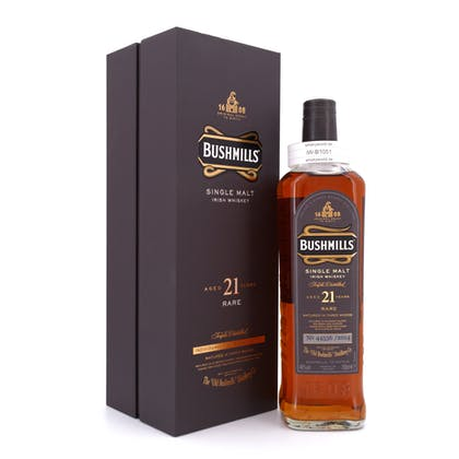 Bushmills 21 Jahre Rare Single Malt 2014 0,70 Liter/ 40.0% vol