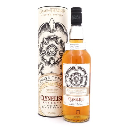 Clynelish Reserve Game of Thrones House Tyrell  0,70 Liter/ 51.20% Vol