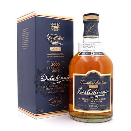 Dalwhinnie Distillers Edition Oloroso Cask finish Jahrgang 2000 0,70 Liter/ 43.0% vol