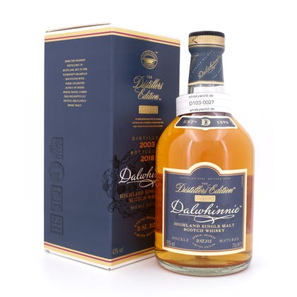 Dalwhinnie Distillers Edition Oloroso Cask finish Jahrgang 2003 0,70 Liter/ 43.0% vol