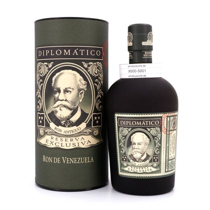 Diplomatico Reserva Exclusiva  0,70 Liter/ 40.0% vol