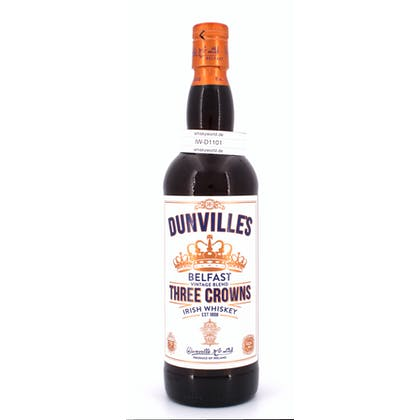 Dunville Three Crowns  0,70 Liter/ 43.50% Vol