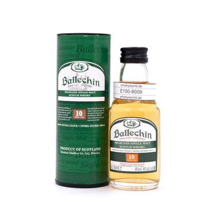 Edradour Ballechin 10 Jahre Heavily Peated Miniatur 0,050 Liter/ 46.0% vol