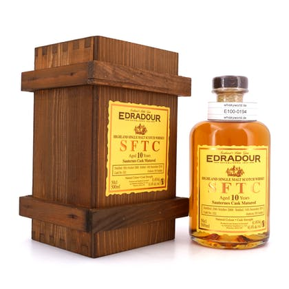 Edradour Straight from the Cask Collection Sauternes Jahrgang 2008 0,50 Liter/ 61.4% vol