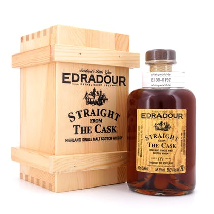 Edradour Straight from the Cask Collection Sherry Sherry Butt 369 Jahrgang 2008 0,50 Liter/ 58.3% vol