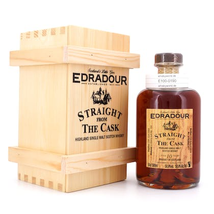 Edradour Straight from the Cask Collection Sherry Sherry Butt Jahrgang 2008 0,50 Liter/ 58.9% vol
