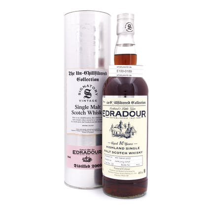 Edradour The Un-Chillfiltered Collection Jahrgang 2009 0,70 Liter/ 46.00% Vol