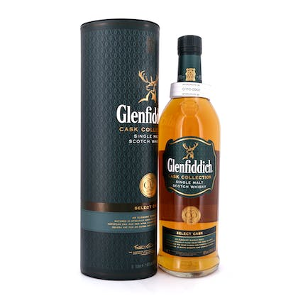 Glenfiddich Cask Collection Select Cask Literflasche 1 Liter/ 40.0% vol