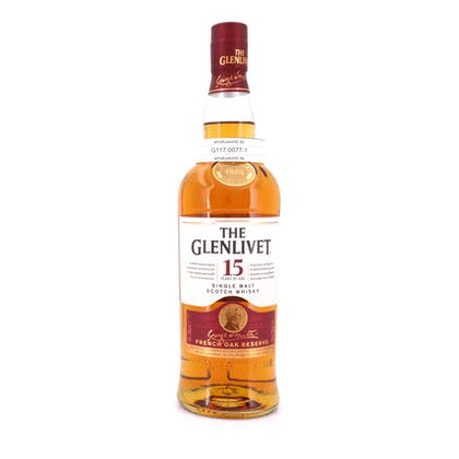 Glenlivet 15 Jahre French Oak Reserve  0,70 Liter/ 40.0% vol