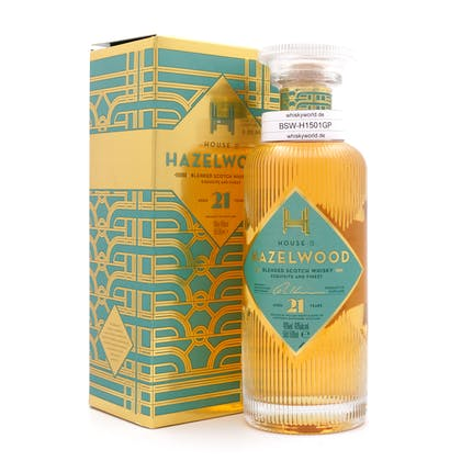 Hazelwood (House of Hazelwood) 21 Jahre  0,50 Liter/ 40.0% vol
