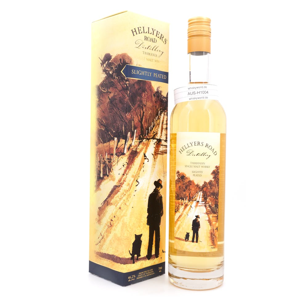 Hellyers Road Distillery Slightly Peated 0,70 L/ 46.20%