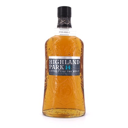 Highland Park 14 Jahre Loyalty of the Wolf Literflasche 1 Liter/ 42.3% vol