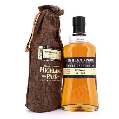 Highland Park 14 Jahre Norway Edition Single Cask Series Cask Strength 0,70 Liter/ 59.7% vol