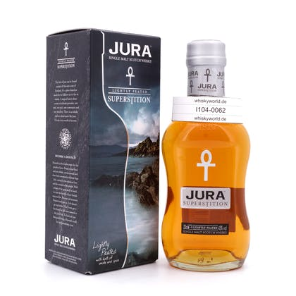 Isle of Jura Superstition lightly Peated Kleinflasche 0,20 Liter/ 43.0% vol