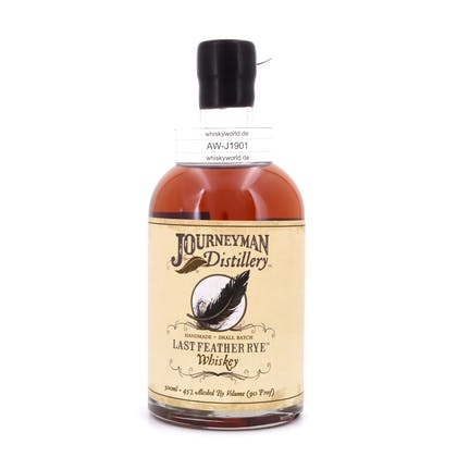 Journeyman Last Feather Rey Whiskey  0,50 Liter/ 45.0% vol