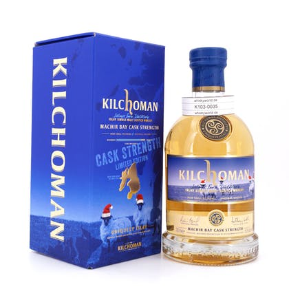 Kilchoman Machir Bay Cask Strength Christmas Release 0,70 Liter/ 58.6% vol