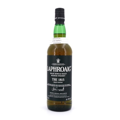 Laphroaig The 1815 Legacy Edition  0,70 Liter/ 48.00% Vol