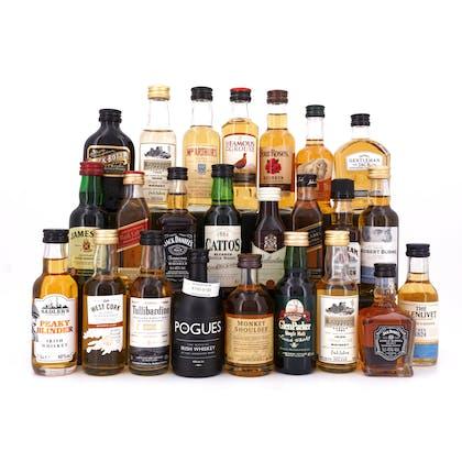whiskyworld Whisky-Adventskalender 2020 Starter 24 Originalabfüllungen je 5cl / 1,20Liter-Set zum Befüllen 1,20 Liter/ 40.3% vol