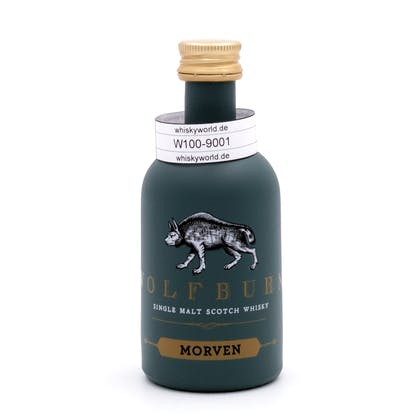 Wolfburn Morven lightly peated Miniatur 0,050 Liter/ 46.0% vol